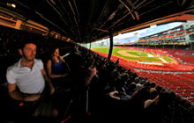 Fenway Grandstands, Boston Red Sox - Visite virtuelle