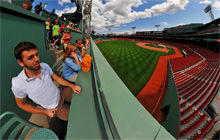 The Green Monster, Fenway Park, Boston - Visite virtuelle