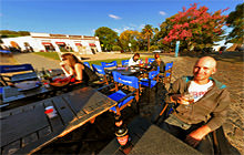 Old town restaurant, Colonia del Sacramento - Panorama 360°